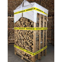 Bæredygtig lufttørret svensk bøg, klar til brug
