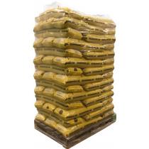 Dkbrænde træpiller svenske 6mm 900kg 10kg poser AFHENTET