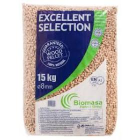 Biomasa træpiller 8mm