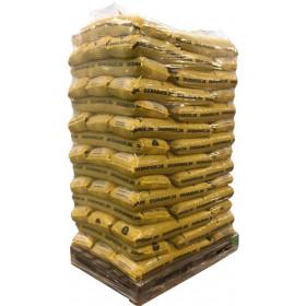 Dkbrænde træpiller svenske 6mm 896 kg 16kg poser afhentet