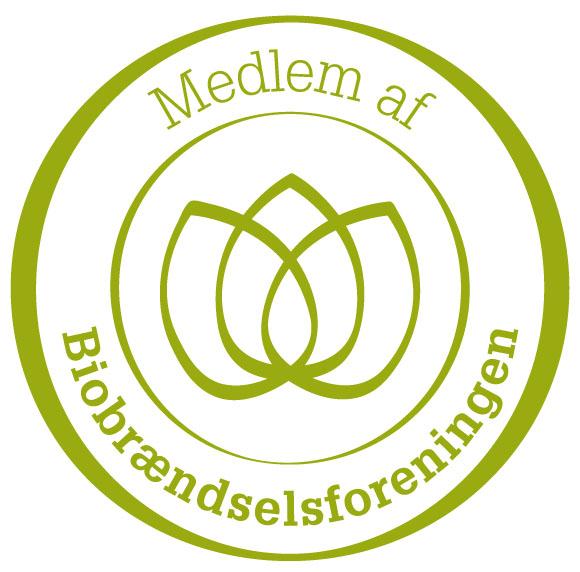 Vi er medlem af biobraendselsforeningen